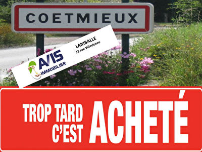 Terrain Coetmieux 1000 m2