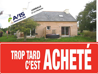 maison + longere LANDEHEN - 4 pieces - 100 m2