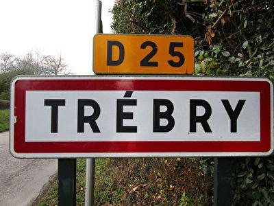 Terrain Trebry 713 m2