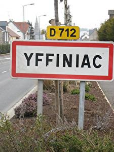 Terrain 600 m2 YFFINIAC