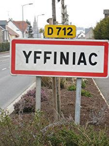 YFFINIAC - TERRAIN 1270 m2