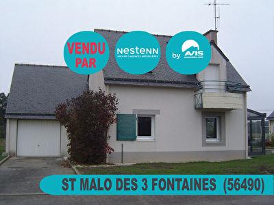 Jolie maison de 4 pieces a SAINT MALO DES TROIS FONTAINES (56490)