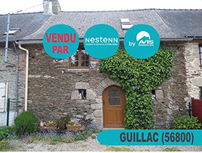 Joilie maison de 3 pieces a Guillac (56800)