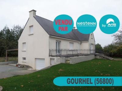Maison de 4 pieces a Gourhel (56800)
