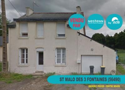 Maison de 3 pieces  a  Saint Malo Des Trois Fontaines (56490)