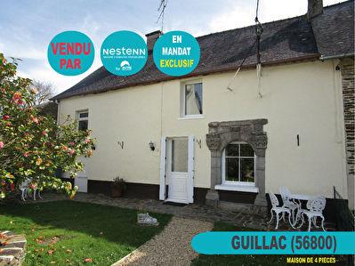 Maison de 5 pieces a Guillac (56800)