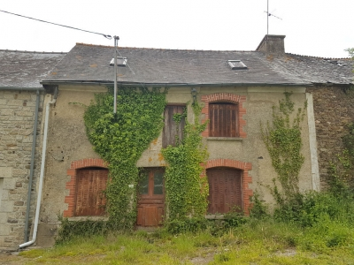 Longere a renover a St Malo des 3 Fontaines (56490)