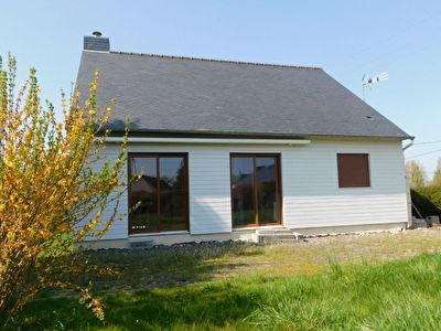 Maison Plourhan 3 pieces 70 m2 et sous-sol total