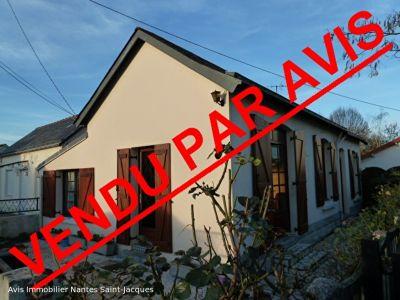 Maison de plain-pied VERTOU 70 m2 2 ch  jardinet