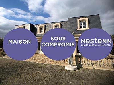 SOUS-COMPROMIS / VERN-SUR-SEICHE - BOURG - PROPRIETE RARE DE 8 PIECES 264 m2