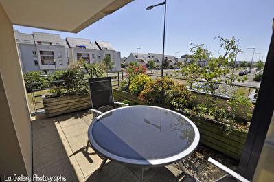 Appartement Bruz T3 57.32 m2 - Terrasse SUD - Ascenseur / garage