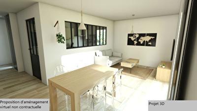 A vendre PAU Appartement Pau T4 de 79.03 m2 dernier etage terrasse garage Vue Pyrenees