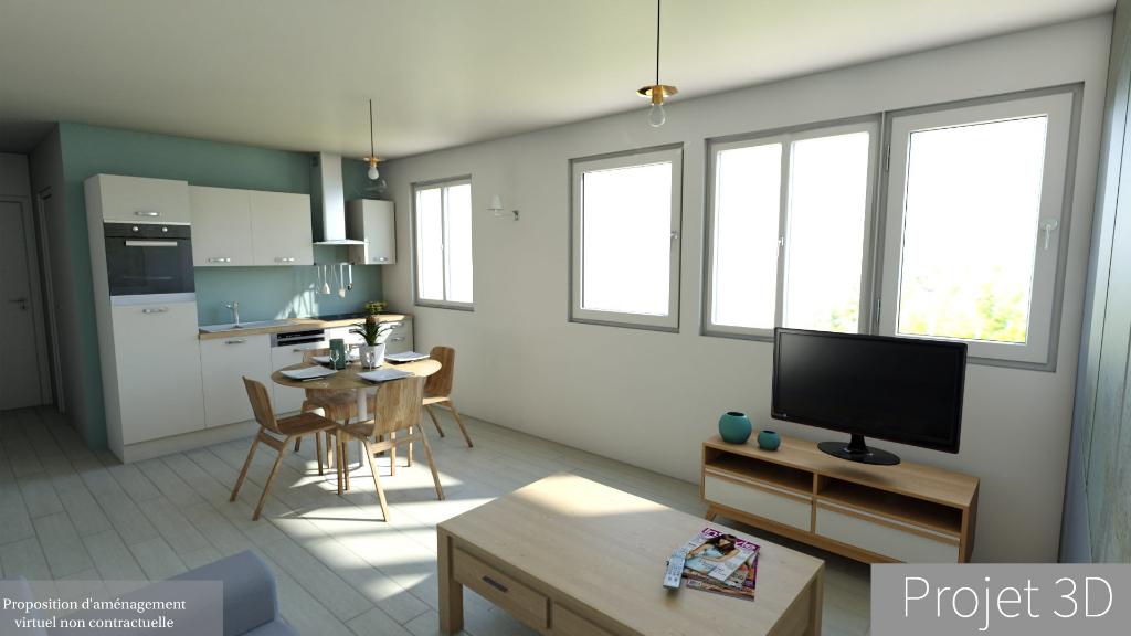 A Vendre Appartement Pau T2 41 m2 - cave et parking