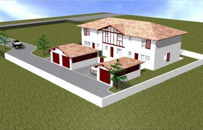 Pavillon TARNOS - 4 pieces - 80,88 m2
