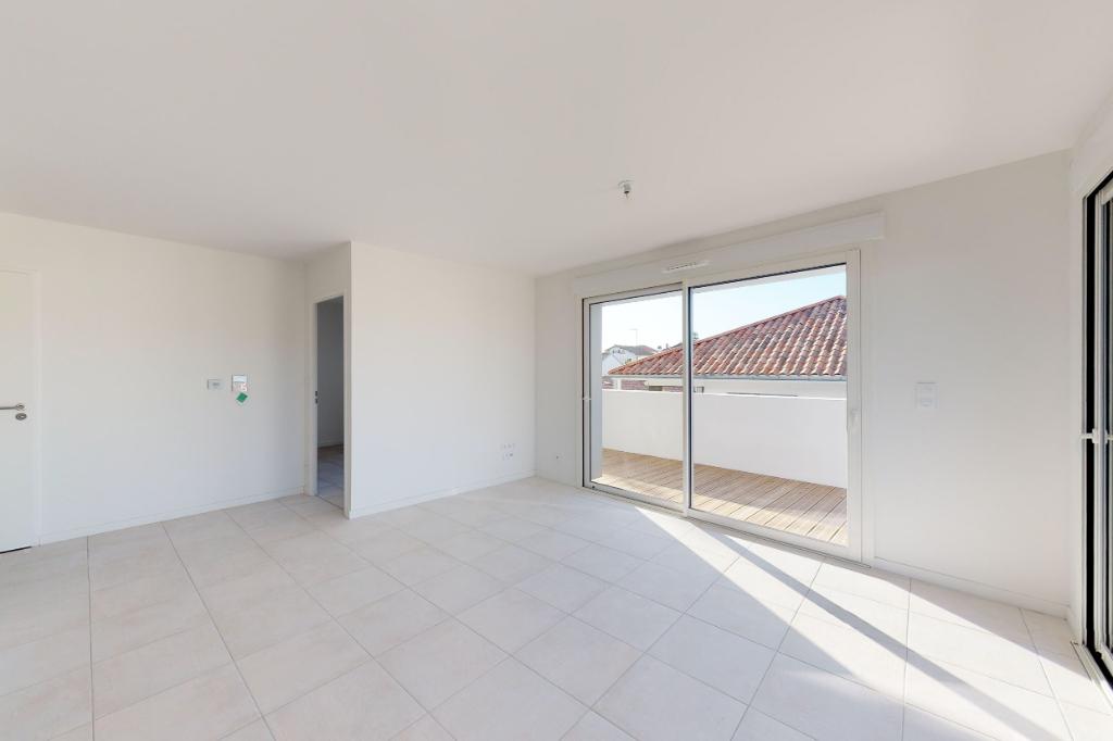 Appartement Bayonne Paulmy Tout à pieds, 3 pièce(s) 61.50 m2