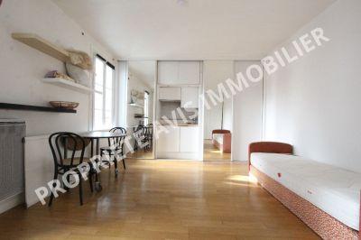 Quartier Iena / Marceau / Champs-Elysees -location meublee - 23 m2