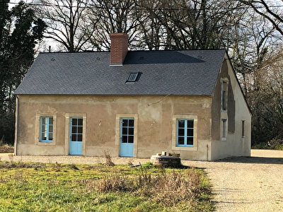 A louer, maison en campagne de La Fleche entierement renovee de plus de 100 m2