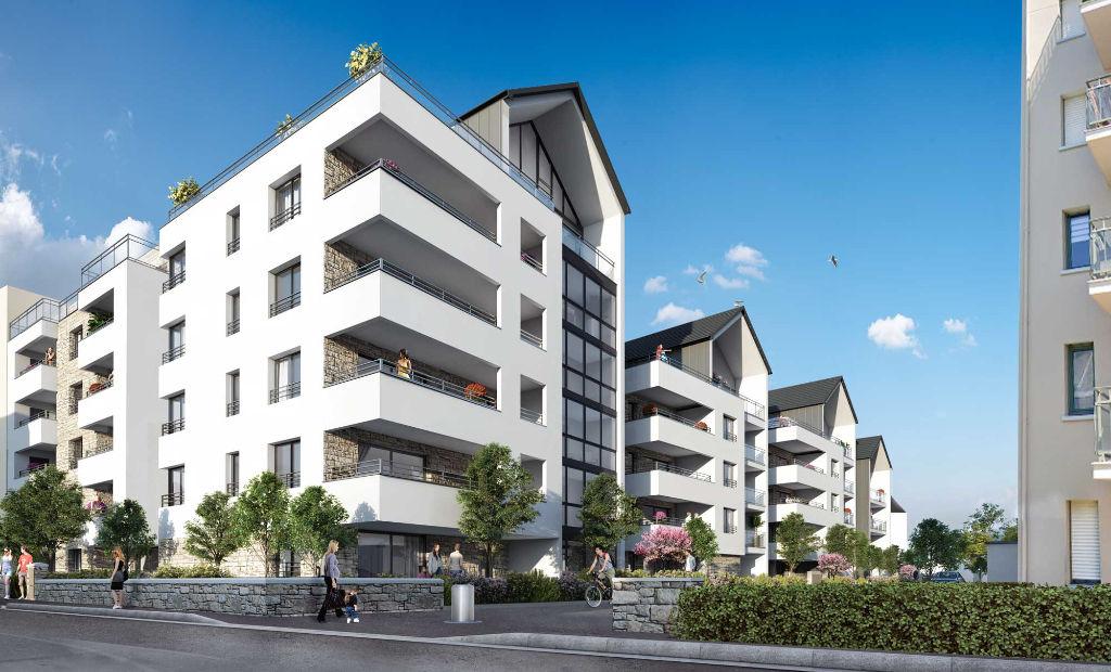 Appartement Dinard 3 pièce(s) 67.31 m2 - PROGRAMME NEUF - Saint Enogat - Balcon + Loggia - Garage