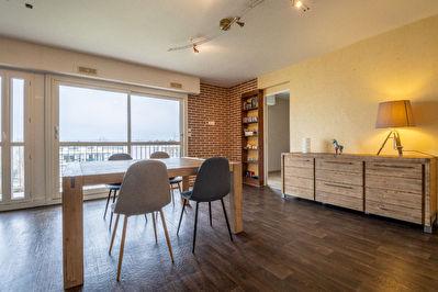 Appartement Saint Malo 4 pieces - balcon - 3 chambres - garage
