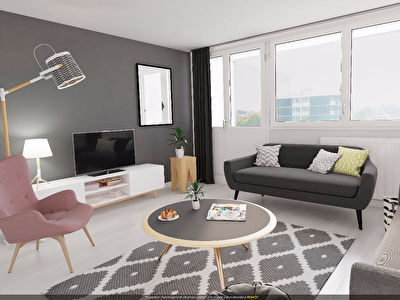 Appartement TRAPPES - 3 pieces - 63,99 m2