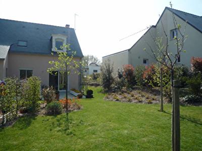 BOUCHEMAINE PRUNIERS. Maison non mitoyenne .4 chambres dont une de plain pied, terrasse donnant sur jardin clos, garage