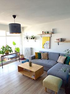 Appartement de type 3 Angers Lorette avec garage boxe et balcon