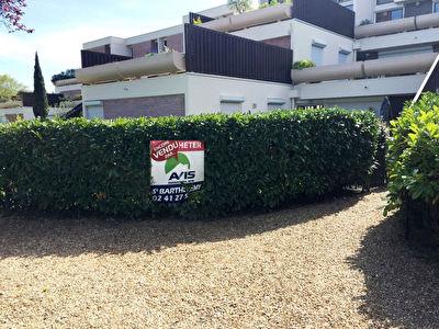 Appartement T4 premiere couronne d'ANGERS avec rez de jardin de 100 m2 ! avec jardin