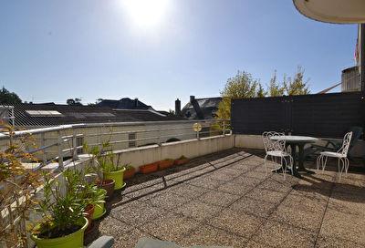 Appartement Saint Barthelemy D Anjou 2 pieces avec terrasse bien exposee