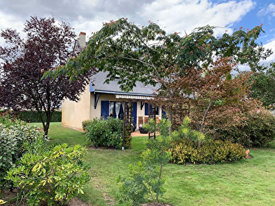 BRAIN SUR L'AUTHION Maison familiale 5 chambres dont 1 en rdc,  tres beau jardin arbore