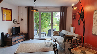 Maison 83 m2, jardin, garage Saint Sylvain d'Anjou