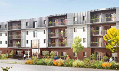 APPARTEMENT NEUF (-5ans) LANESTER - 3 pieces - 63,19 m2