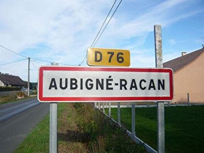 Terrain Aubigne-racan 2551 m2