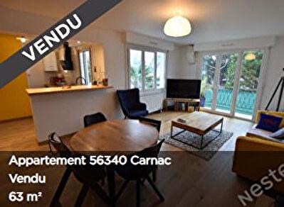 CARNAC Plage - Appartement 2 chambres de 63m2