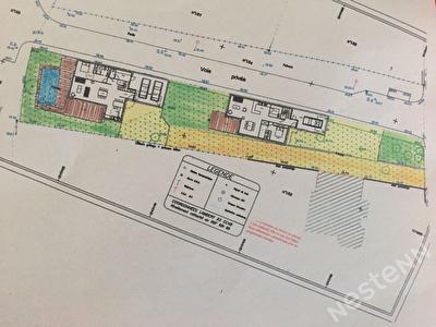 Terrain CARNAC -- Permis de construire pour 2 maisons