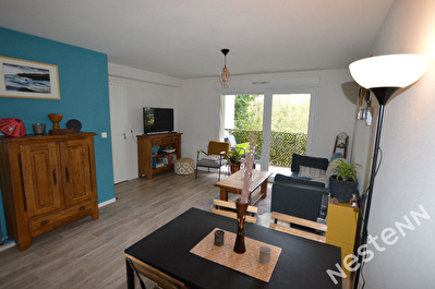 Appartement Auray 2 pieces 46 m2 avec balcon et garage, residence avec ascenseur