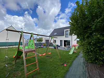 Maison contemporaine PMR 90 m2 - Pluneret