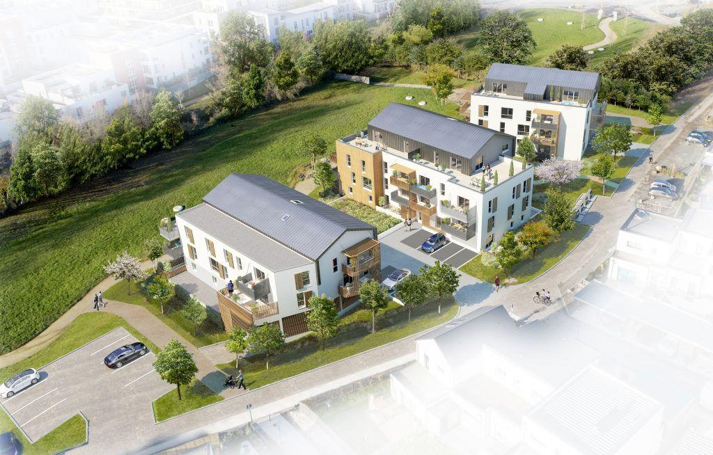 A vendre Angers secteur hôpital , Jean Moulin, Eséo. Appartement type 3, 2 chambres avec place de parking en sous-sol.