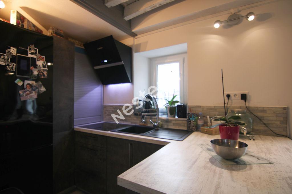 Appartement 2 pièces 62.66m² au sol (46.77 m2 Carrez) - faibles charges - proche gare tram et bus
