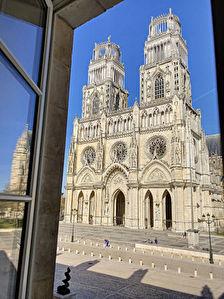 ORLEANS VUE Cathedrale  exceptionnelle - Hyper centre  - Grand T3 bourgeois renove avec balcon -  Esprit Haussmannien