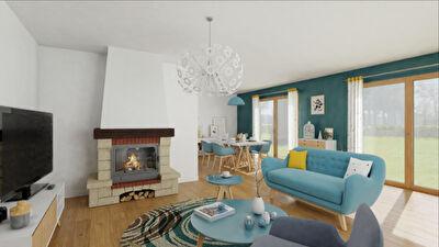 A vendre Maison 15 min Nord Mont de Marsan 4 chambres garage