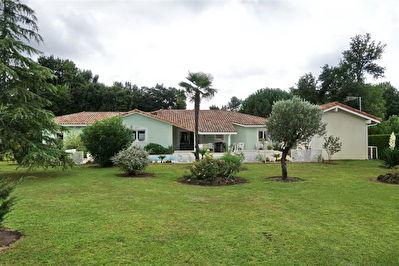 A VENDRE MAISON UCHACQ ET PARENTIS (10 min de MONT DE MARSAN) 3 chambres piscine garage