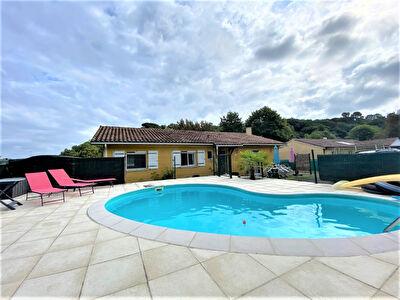 A VENDRE Maison Contemporaine Larriviere St Savin 4 chambres garage piscine