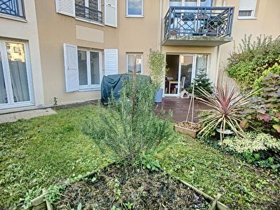 Rez de jardin 3 pieces 61 m2 avec Box