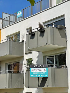 Appartement Bessancourt 2 chambres + Balcon + Box double
