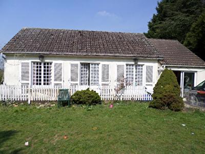 Maison plain pied proche Auneuil 3 chambres jardin 1089m2 4 pieces 87.20 m2