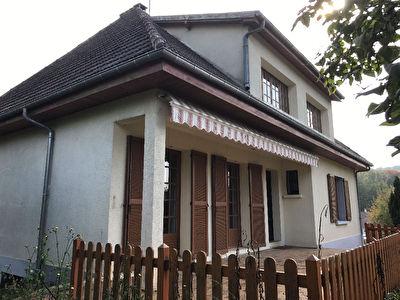 Maison proche Noailles 6 pieces 4 chambre 110m2habitables 1850m2 jardin