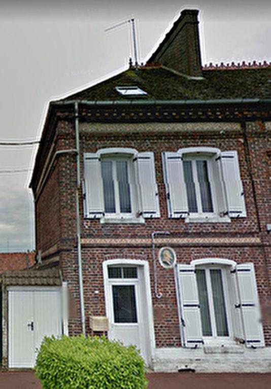 Maison Beauvais proche, 4 pieces,75 m2,230 m2 de jardin