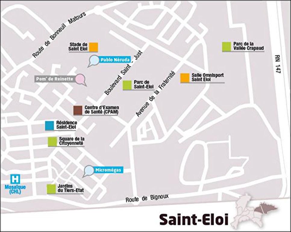 A vendre appartement type 2 Libre de toute occupation secteur EST Poitiers Saint Eloi