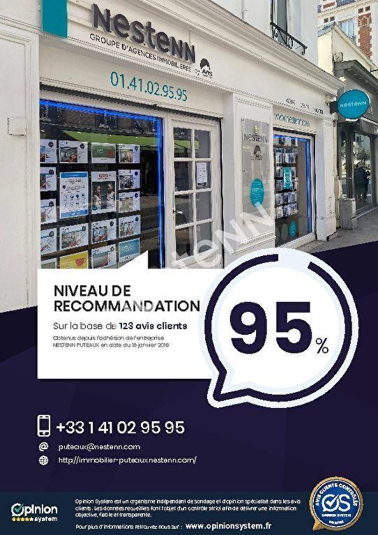 PUTEAUX centre-ville 2P avec combles de 33.45 m² + 30m² de combles