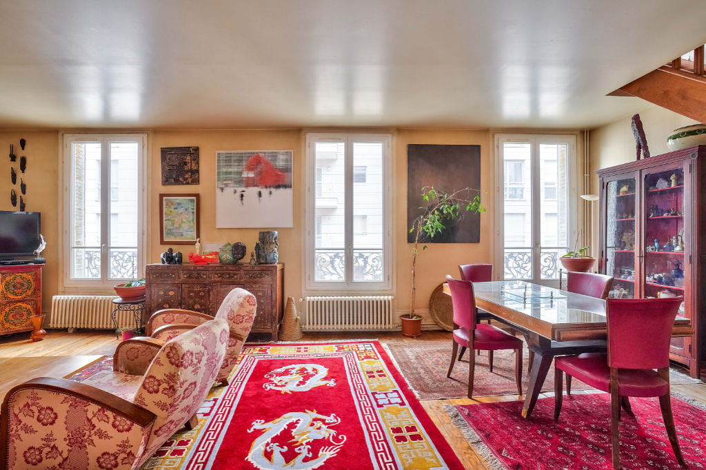 DERNIER ETAGE. PUTEAUX: Appartement  en duplex de 5/6  pièces 120 m²